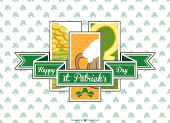 St Patrick's vector