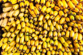 Stacked bananas
