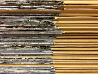 Stacked Carton Box Card Boards