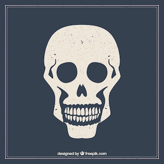 Stamped skull