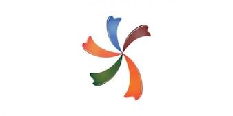 Star brand logo template