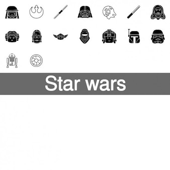 Star wars icons for fans