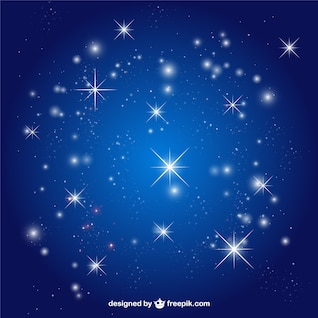 Stars sky vector background