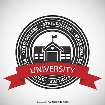 State college badge