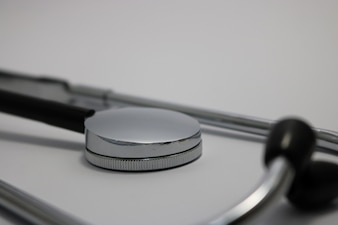 Stethoscope close up