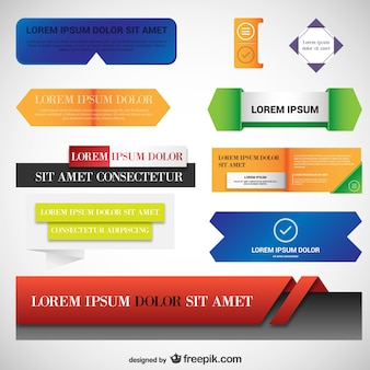 Sticker templates pack