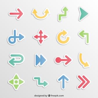 Sticky arrows