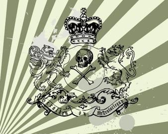 Stock Heraldic vector