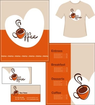 Stock Ilustrations Coffee-Style Vector