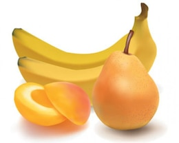 Stock Ilustrations Fresh Fruit Vectors