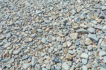 Stones on the floor