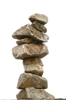 Stones pile