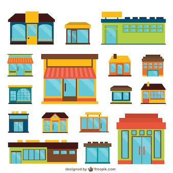 Stores vector pack