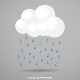 Storm cloud vector free