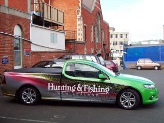 Strange and nice vehicles in Dunedin