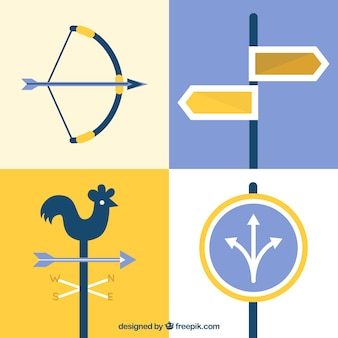 Strategy concept signs