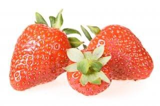 Strawberries, dieting, healthy