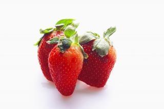 strawberries  fresh  juicy
