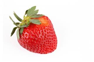 Strawberry close up  seed