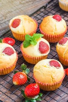 Strawberry Muffin