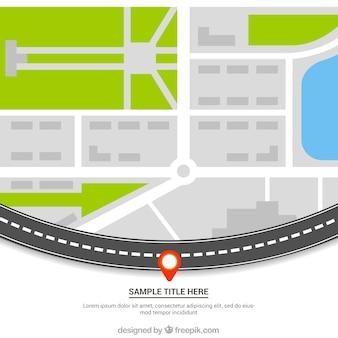 Street map template