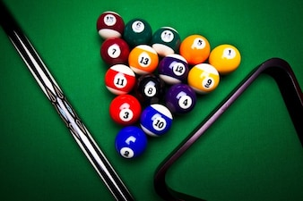 Strike circle billiards game pool