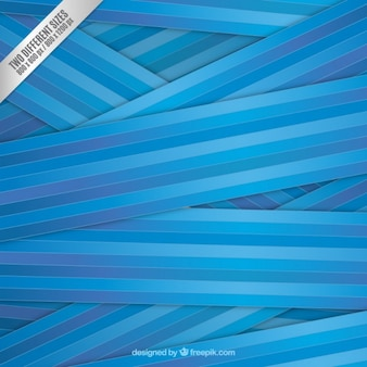 Striped background in blue tones