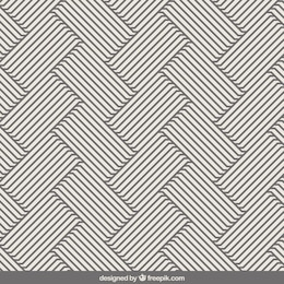 Stripes pattern in op art style