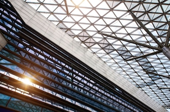 Structural glass ceiling
