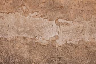 Stucco damaged surface