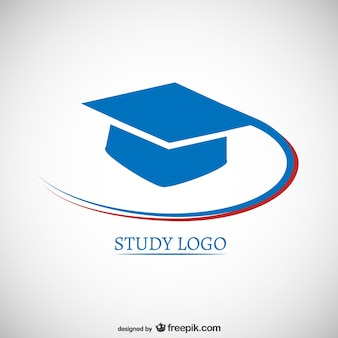 Study logo with mortarboard