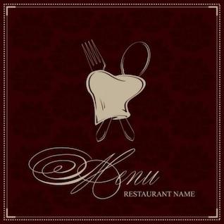 stylish deluxe restaurant logo vector pack