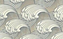 stylish nuveau vintage background vector