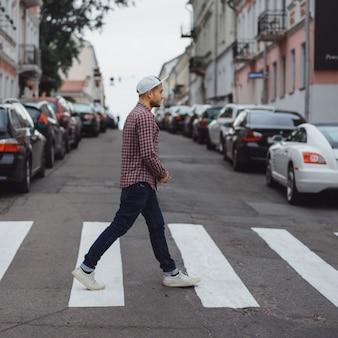 Walking Strategy – City of Toronto  |Person Walking City