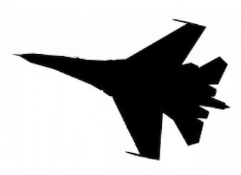 Su-27 silhouette