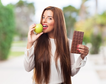 Sugar tasty portrait weight decision