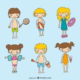 Summer activity set