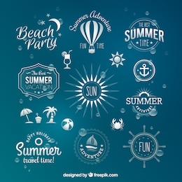 Summer badges