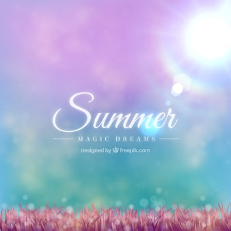 Summer dreams background