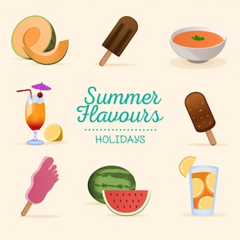 Summer flavours