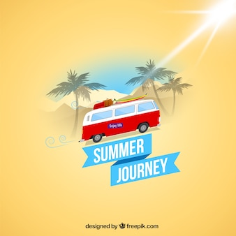 summer journey background