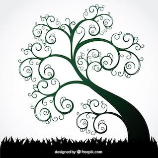 Summer Swirl Tree