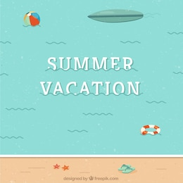 Summer vector graphics collection