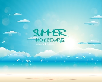 Summer vector graphics free