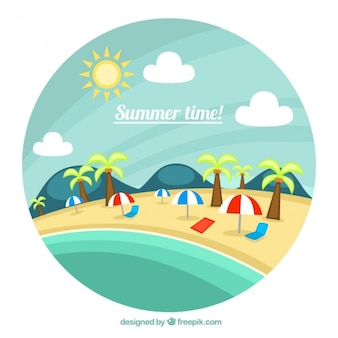 Summertime holidays