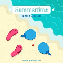 Summertime illustration