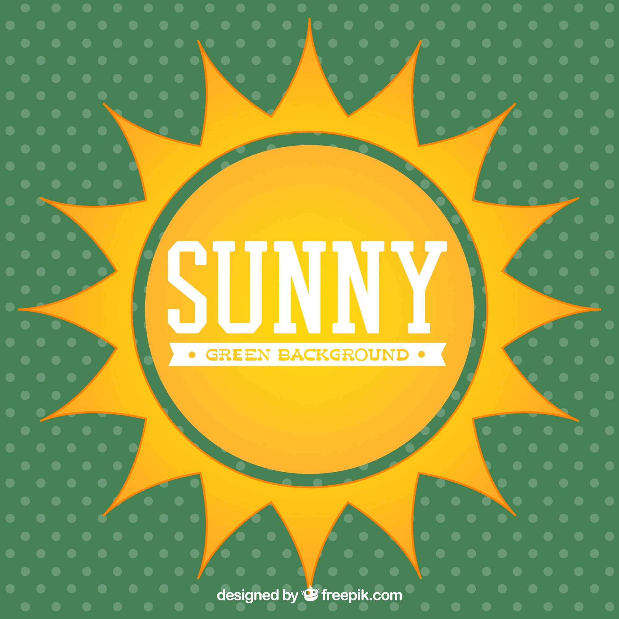 Sunny vector background