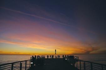 Sunset contemplation