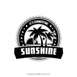 Sunshine badge