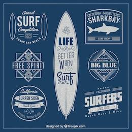 Surf badges
